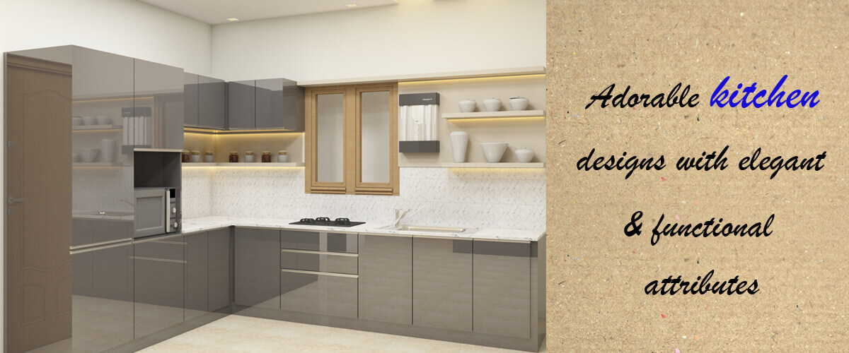 Wardrobe Interior for 3 BHK Apartment