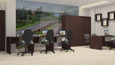 workstation design for office Bangalore