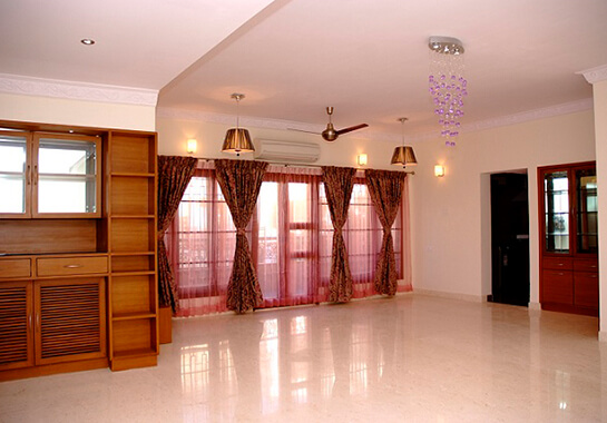 3 bhk flat interior design